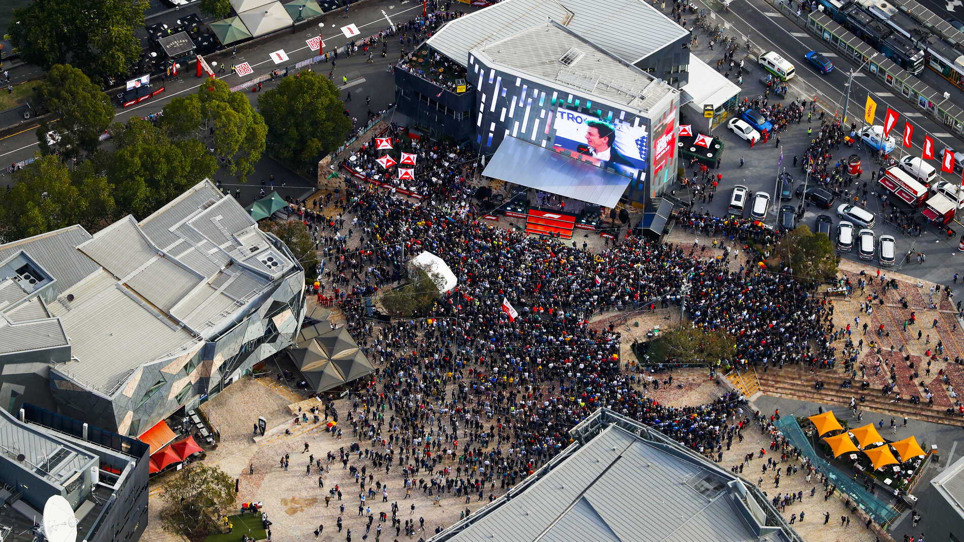 Watch the 2019 F1 Season Launch event from Melbourne ahead