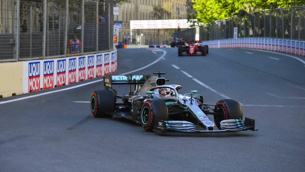 F1 2019 one-two streaks