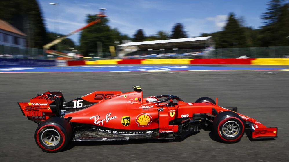 Belgian Grand Prix 2019 Fp2 Report Leclerc Heads Vettel At Spa