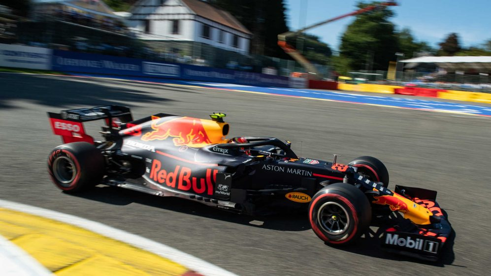Belgian Grand Prix: Engine penalty shunts Albon to back of the grid
