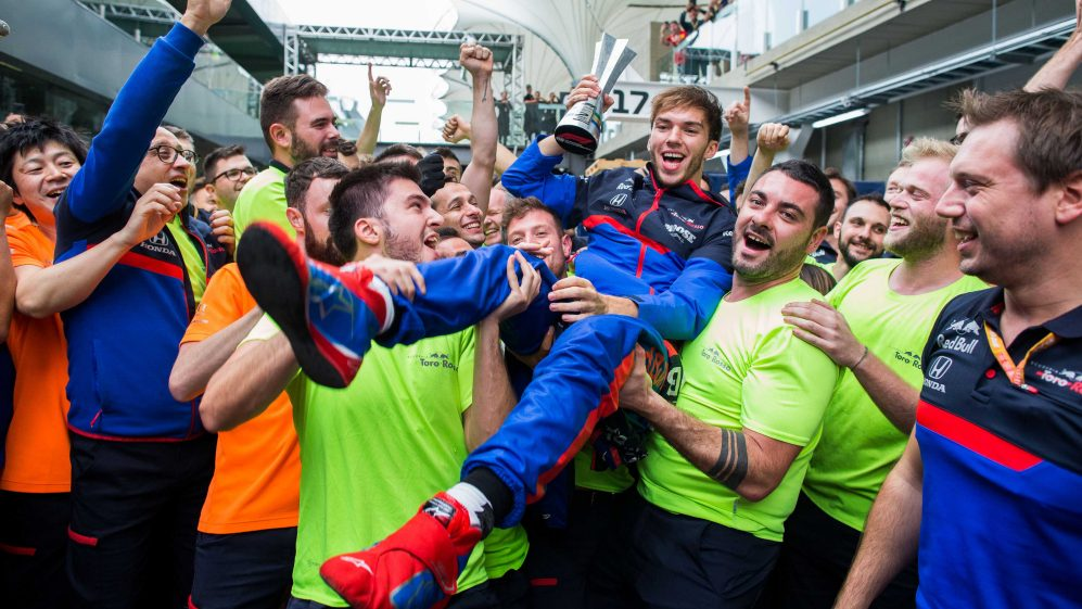 'This is the best day of my life' says Gasly after stunning Brazil podium | Formula 1®