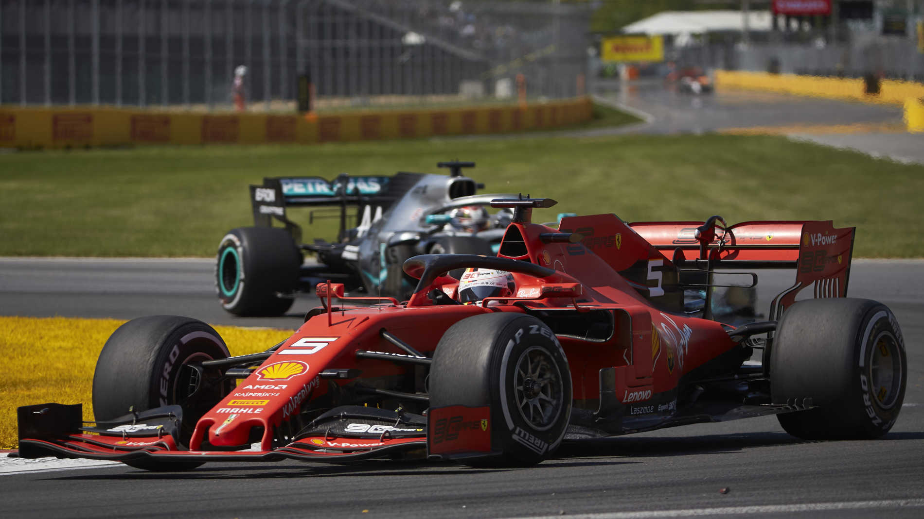 Ferrari request right to review Vettel Canadian GP penalty decision   Formula 1®