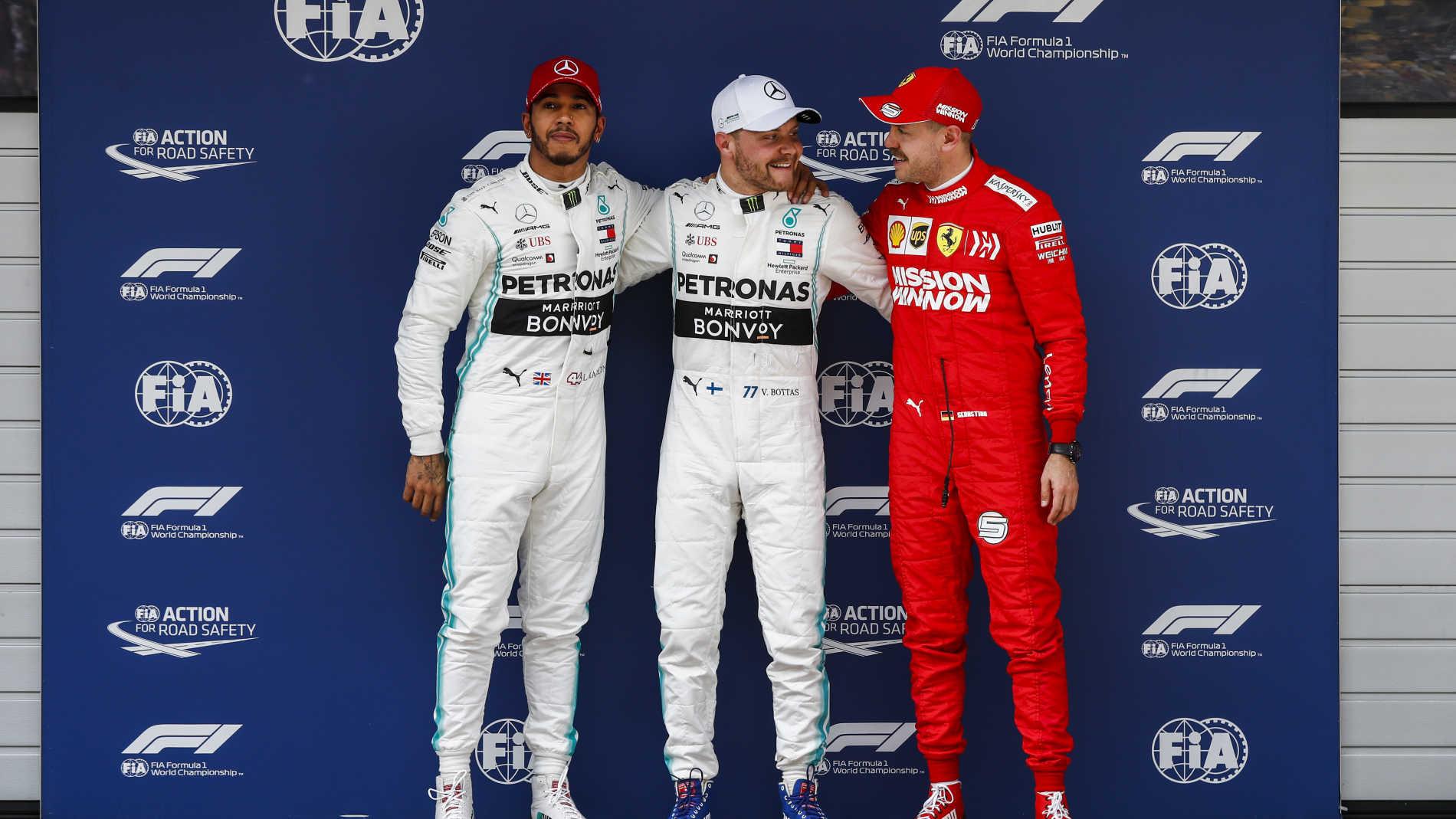 Valtteri Bottas se queda con la pole 1000 de la historia de la F1 en China