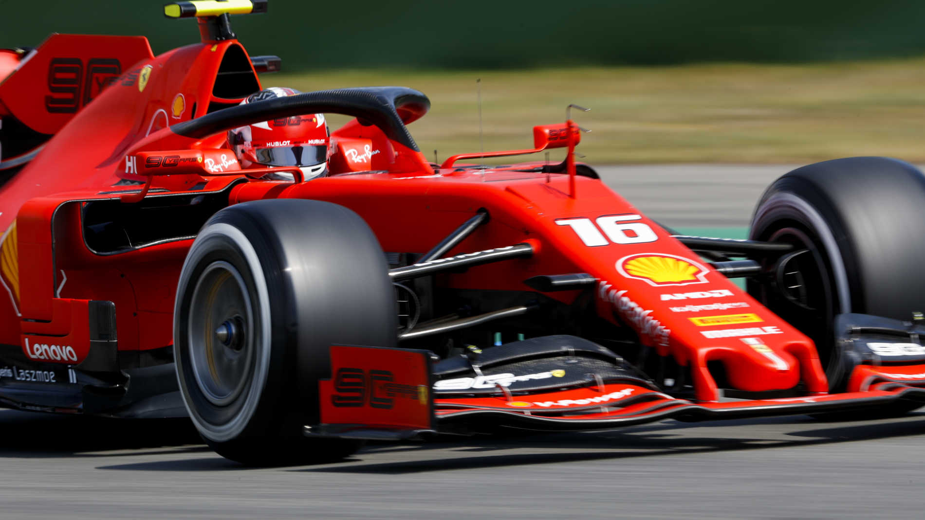 german grand prix 2019 fp2 report  leclerc leads in germany as gasly crashes out