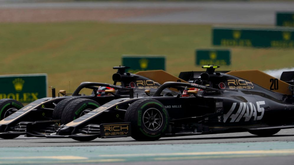 'It's just bad luck': Haas drivers shrug off clashes