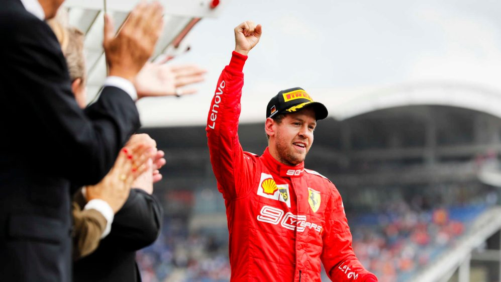 German Grand Prix: Vettel channelled David Coulthard for home ...