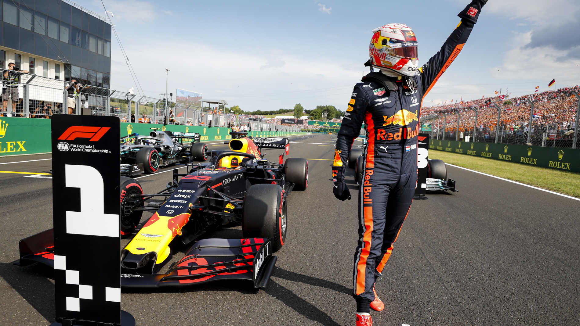Verstappen Takes Maiden Career Pole In Thrilling Hungary