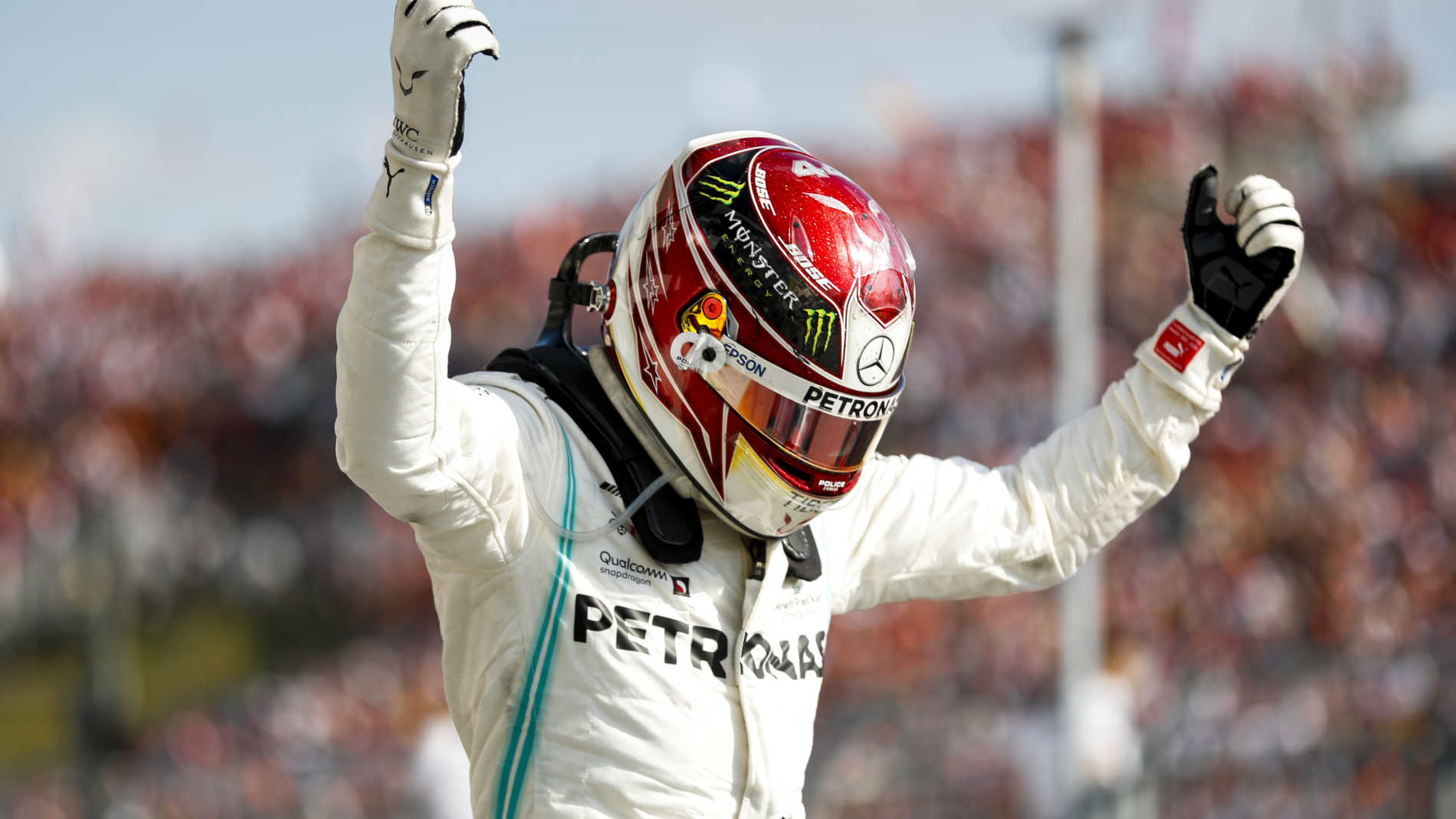 St Charles Mercedes >> 'I was on the limit all the way' says Hamilton after thrilling Hungarian GP win | Formula 1®