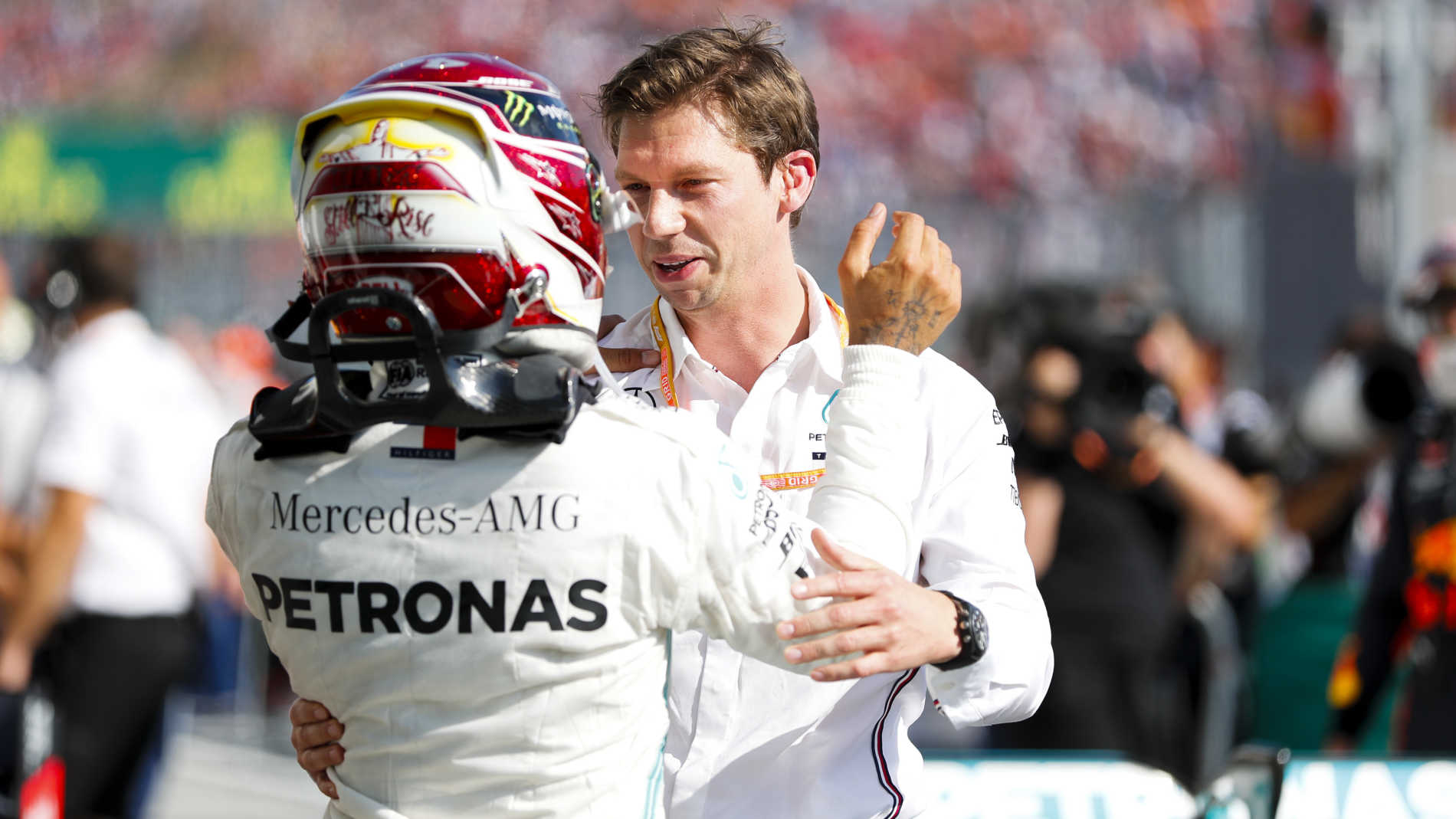 Mercedes Chief Strategist James Vowles on how he engineered Hamilton's  Hungary win | Formula 1®