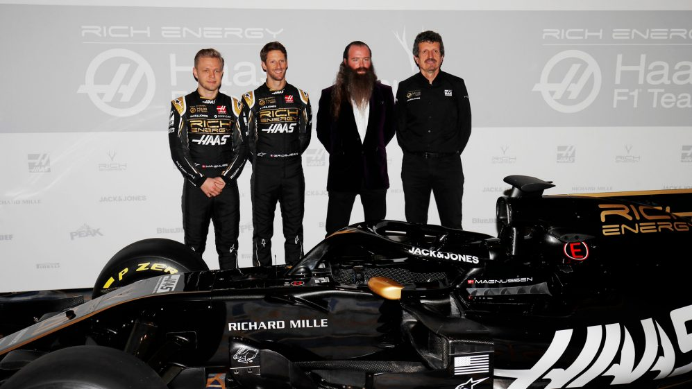 2019 Haas Livery Launch