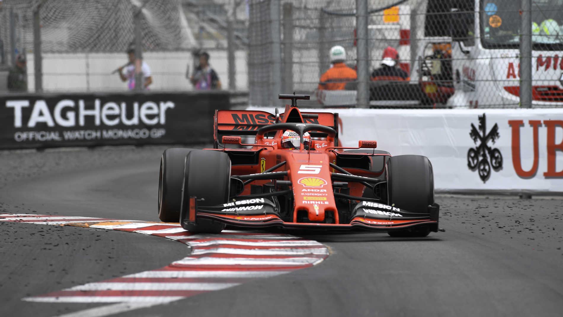 Imagini pentru Sebastian Vettel monaco 2019