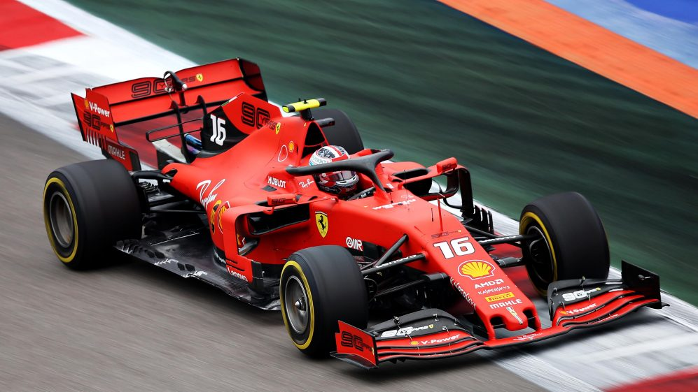 FP3: Leclerc heads Ferrari 1-2, lucky escape for Verstappen | Formula 1®