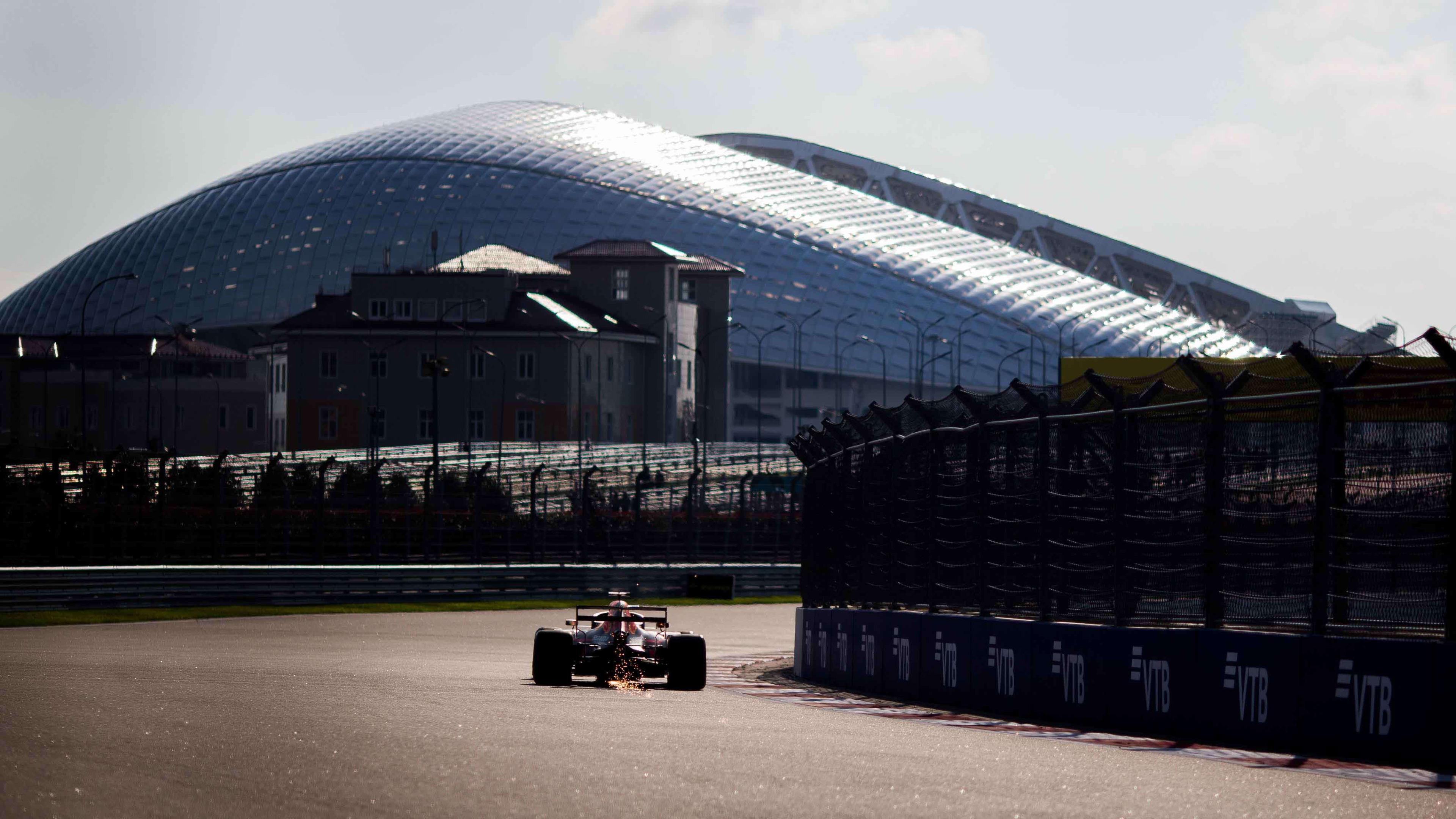 F1 Grand Prix of Russia - Qualifying