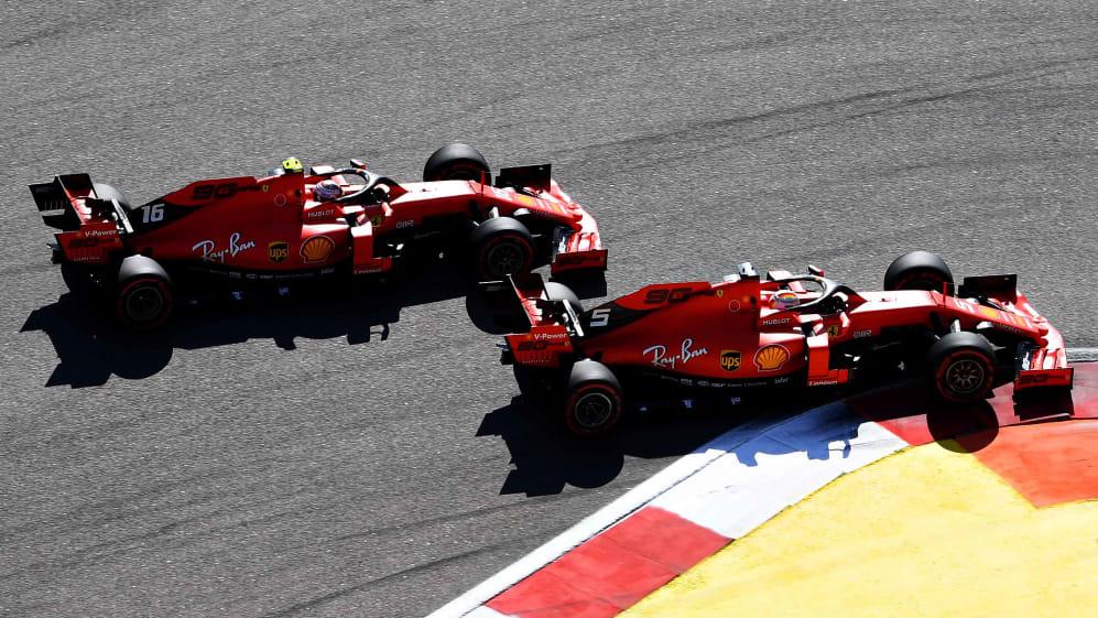 Sebastian Vettel & Charles Leclerc says dispute is over