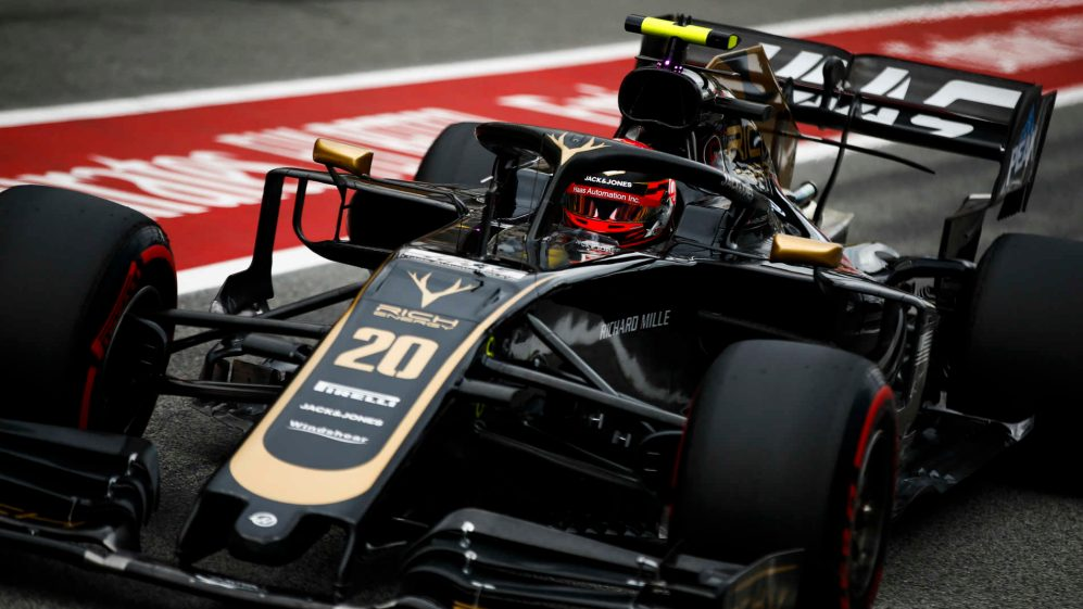 Haas F1 Team Encouraged By Double Points Haul