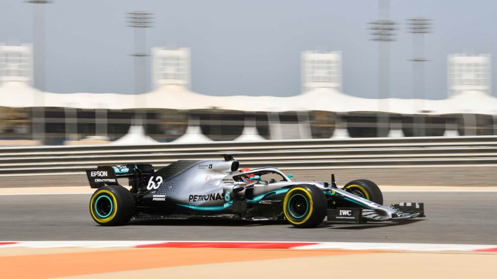 2019 Bahrain April testing