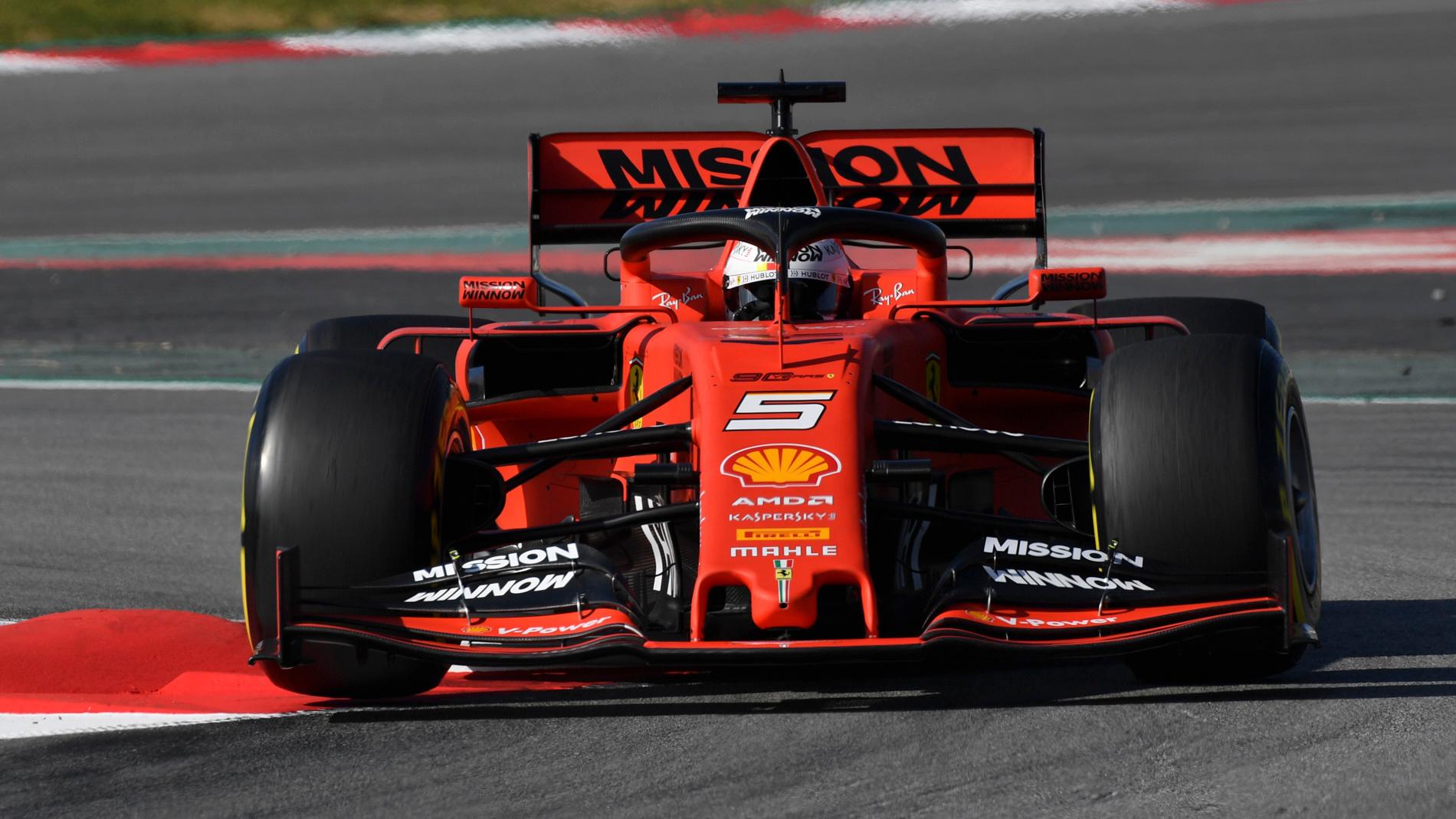F1 Barcelona 2019