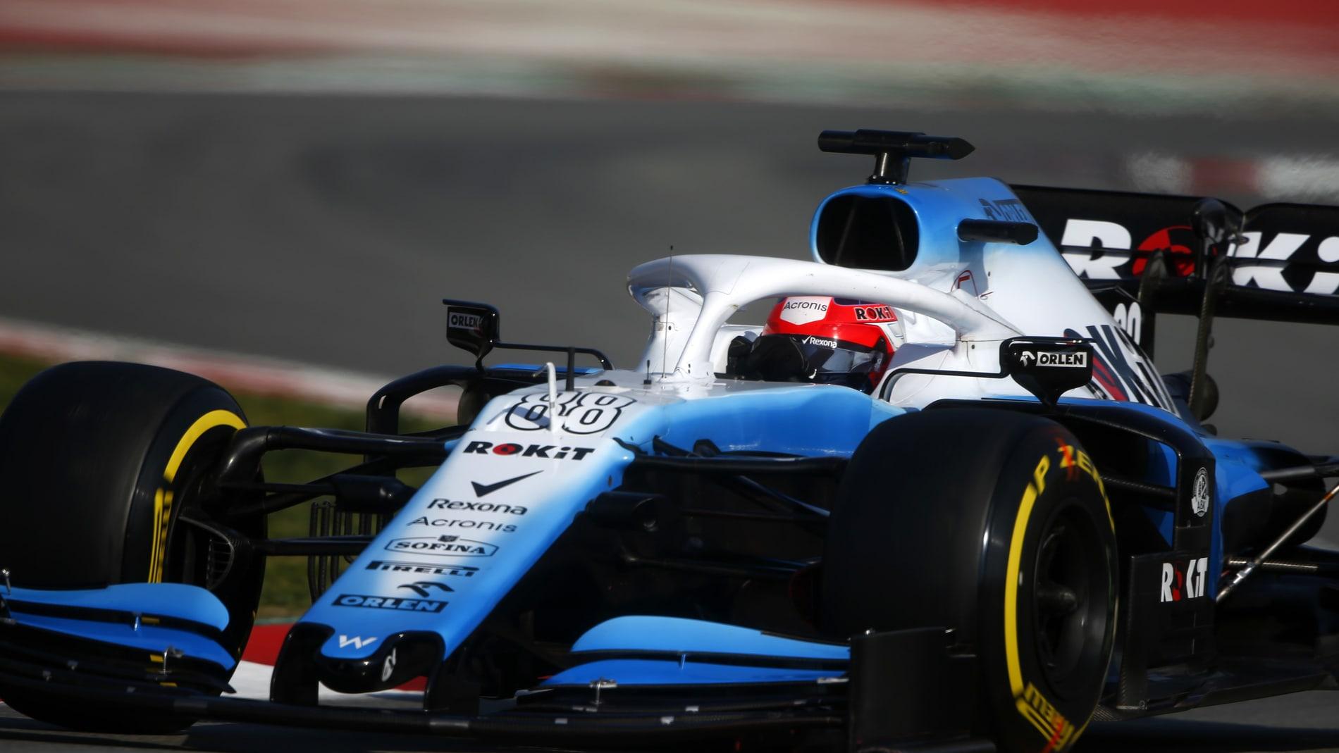 Williams modify F1 car design ahead of Australian Grand Prix
