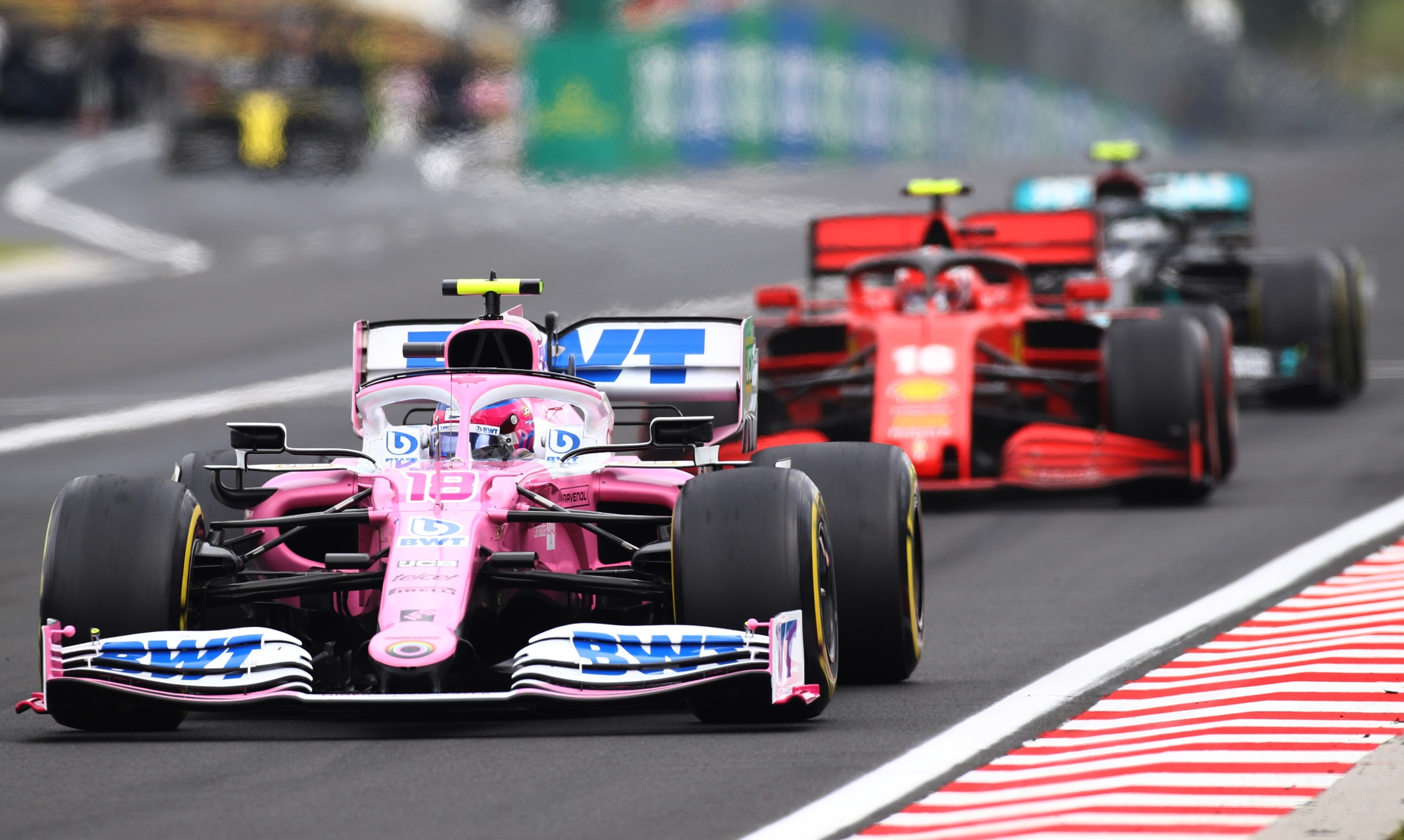 Strategy Gamble Lost Racing Point Chance Of Podium Says Lance Stroll Formula 1