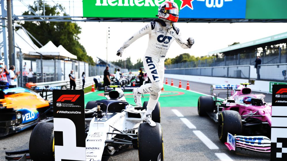 Italian Grand Prix 2020 Race Report And Highlights Gasly Beats Sainz To Maiden Win In Monza Thriller As Hamilton Recovers To P7 After Penalty Formula 1
