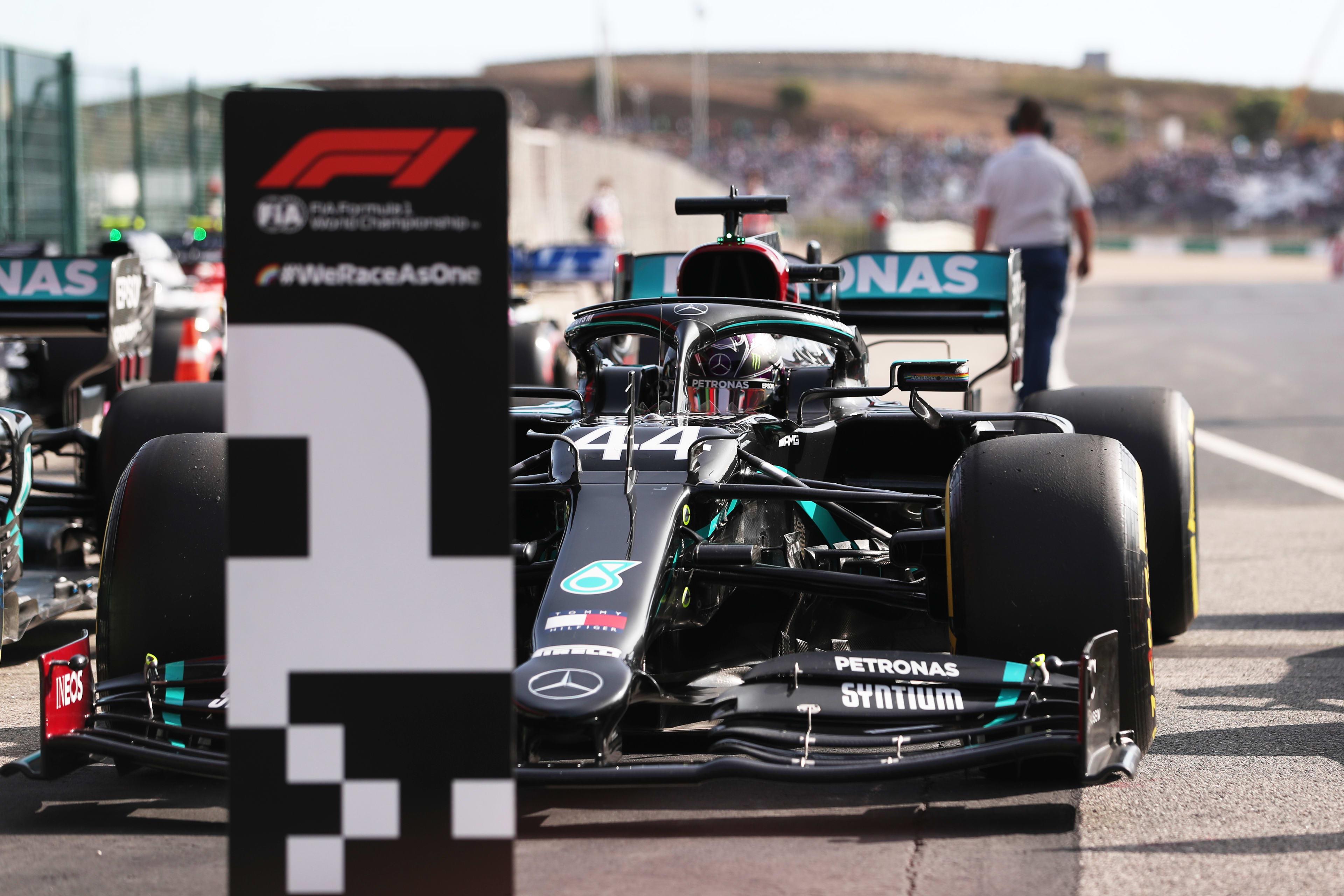 2020 Portuguese Grand Prix qualifying report: Hamilton beats Bottas to Portuguese GP pole with final charging run at Portimao | Formula 1®