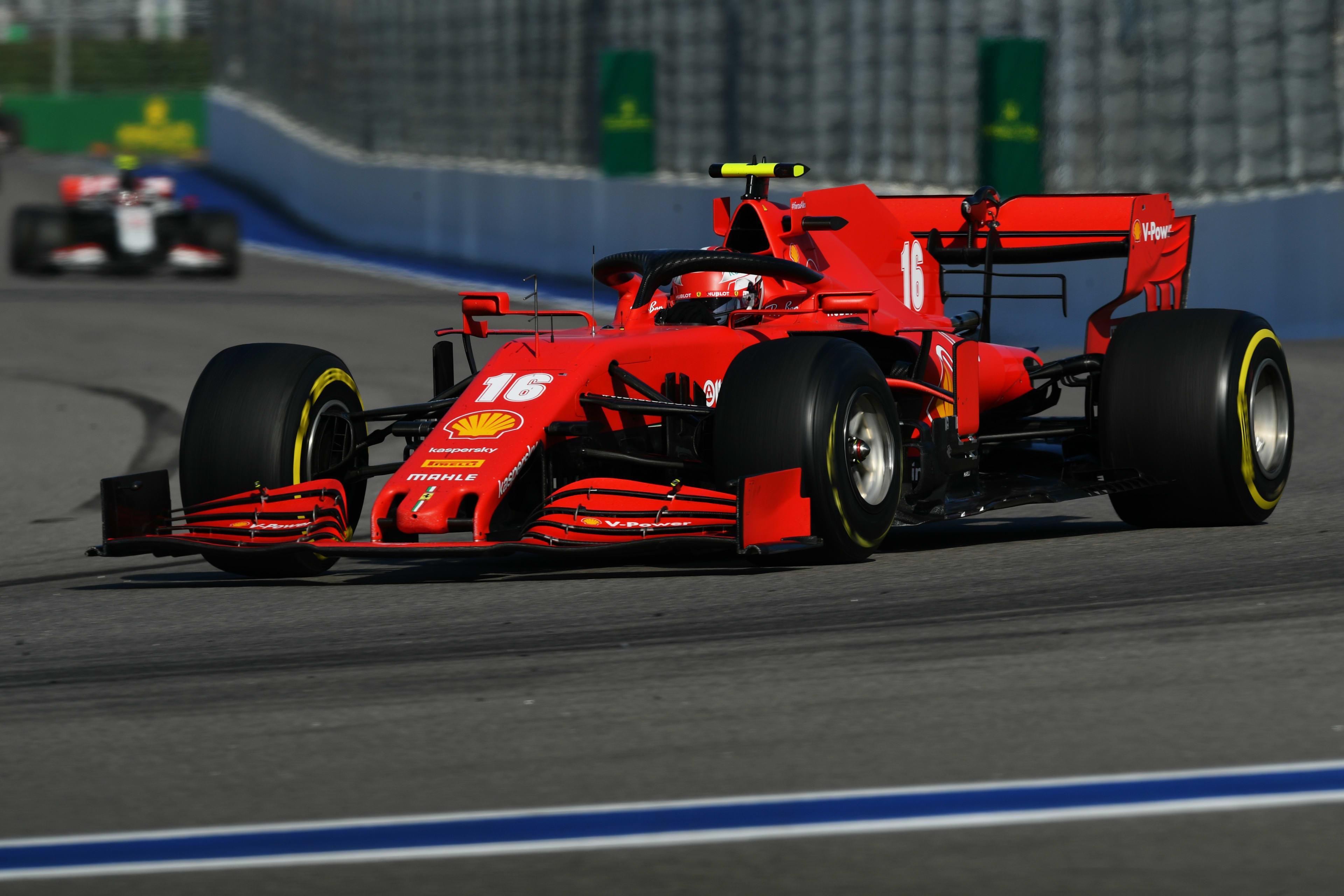 Leclerc Says Ferrari Have Taken Good Step Forward After Best Result In Five Races Formula 1