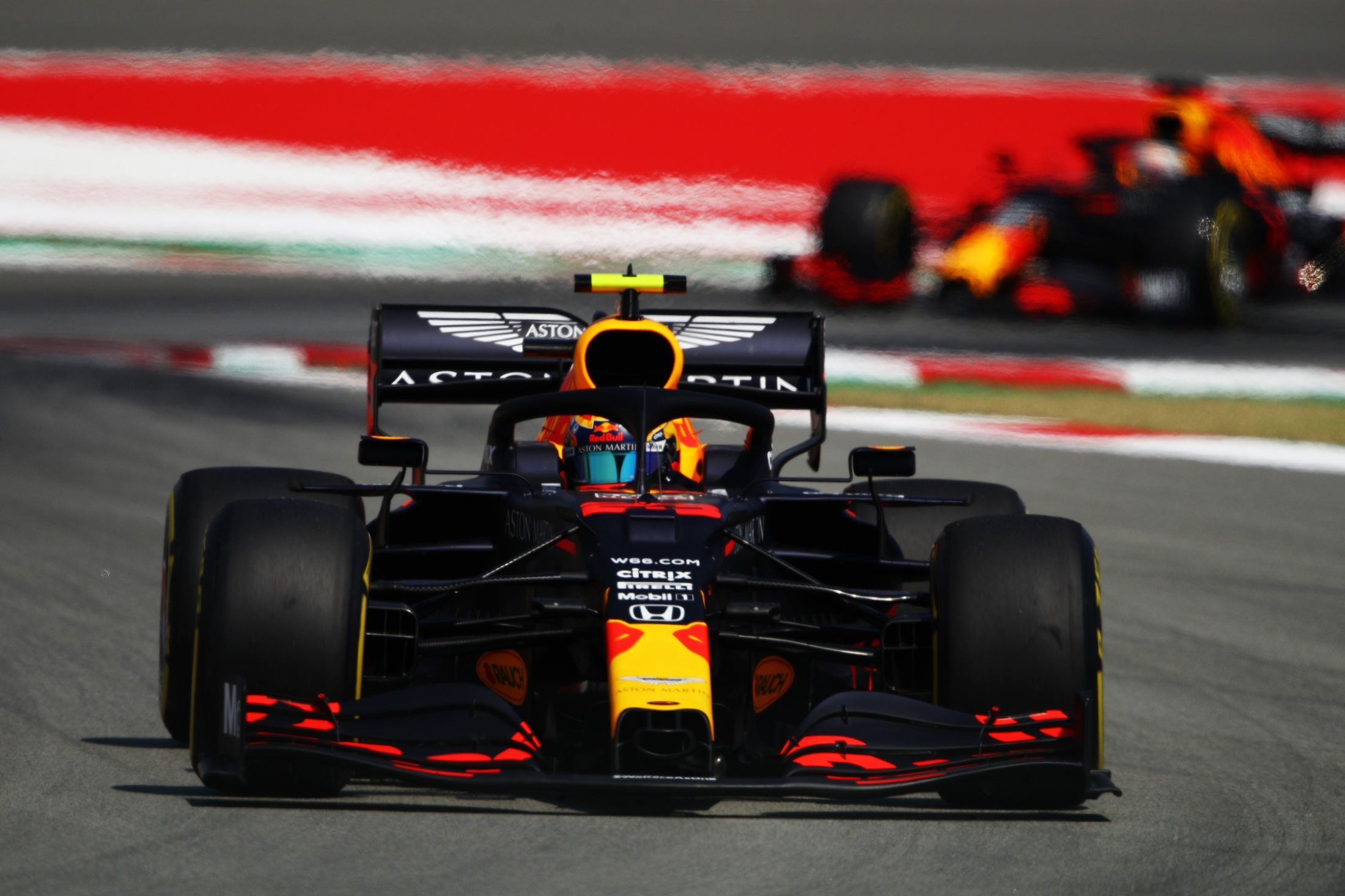 Red Bull encouraged by 'really competitive' long run pace in Spanish GP practice - Formula 1 RSS UK