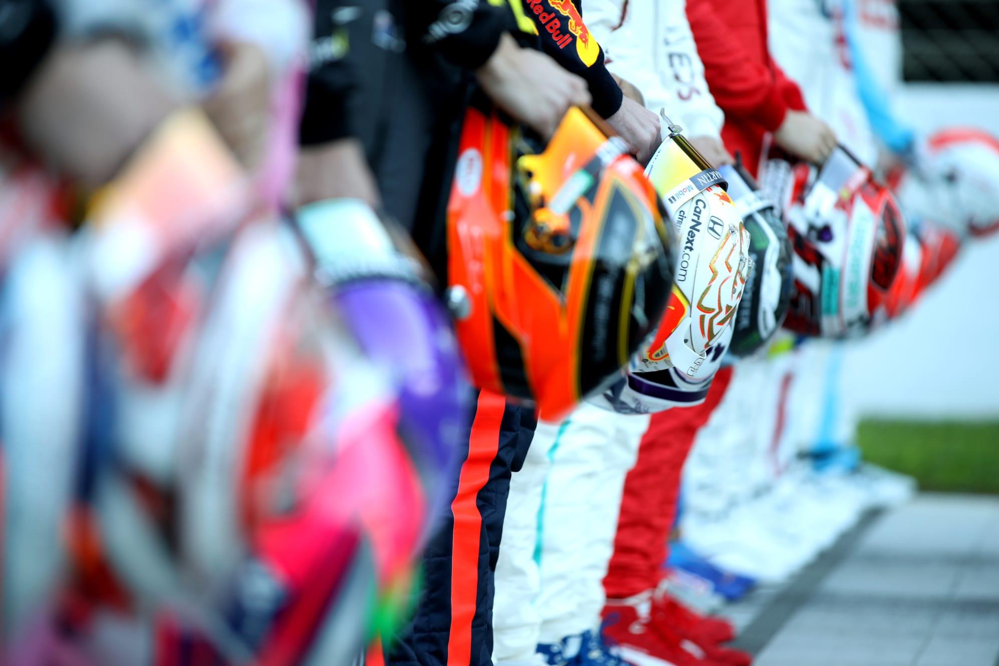 Kierowcy F1 w trakcie przedsezonowych testów, luty 2020, Circuit de Barcelona-Catalunya