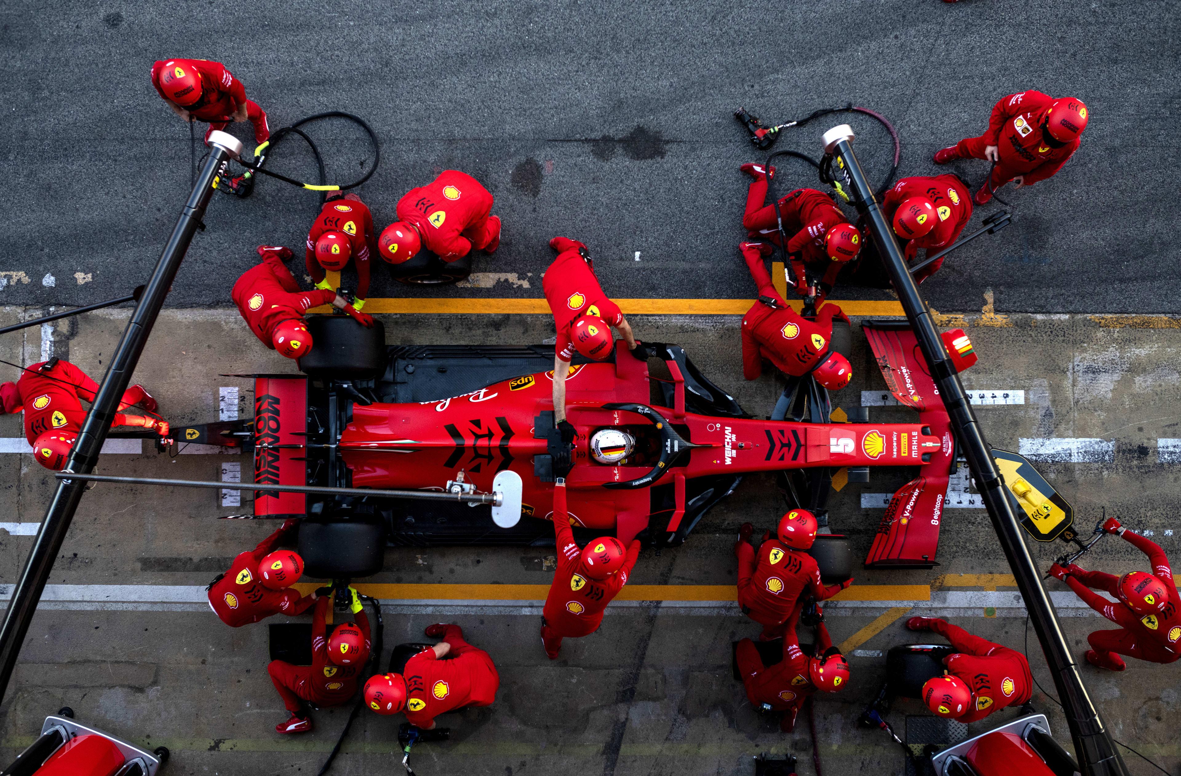 We're not 'sandbagging' in pre-season testing, insist Ferrari | Formula 1®