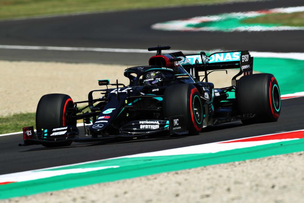 Tuscan Grand Prix Qualifying Report Hamilton Pips Bottas To Mugello Pole As Leclerc Takes Fifth Formula 1