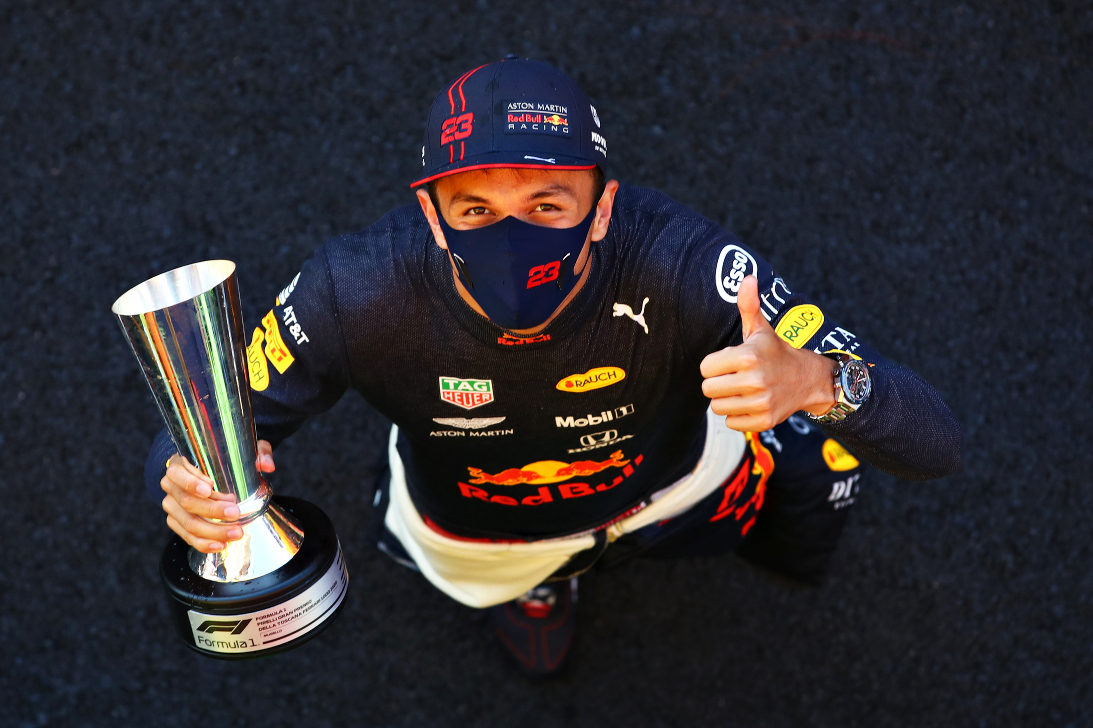 He Had To Really Fight For It Horner Says Mugello Podium Will Be Turning Point For Albon Formula 1