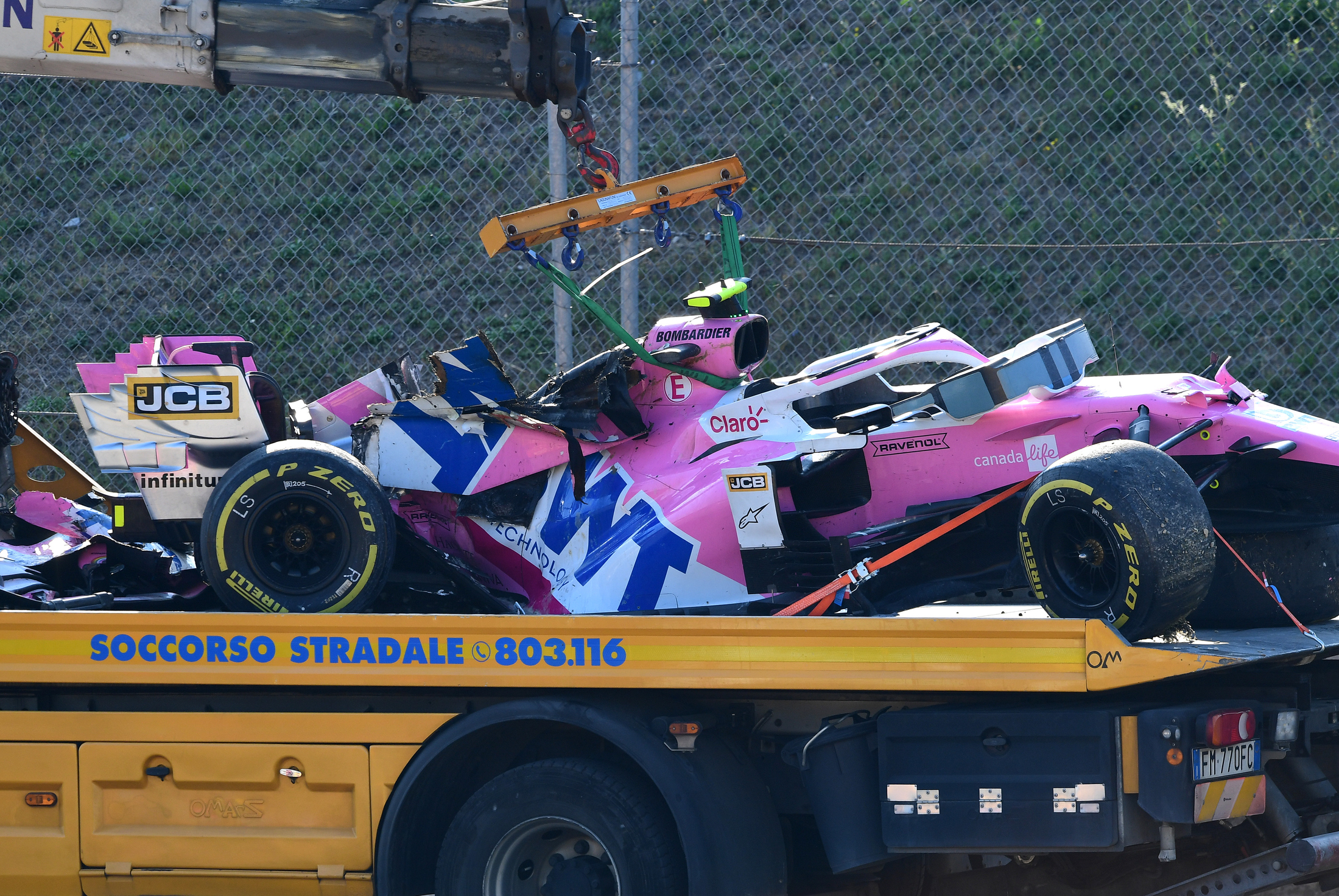 Stroll Takes New Chassis For Russia After Describing Old One As Toast After Mugello Crash Formula 1