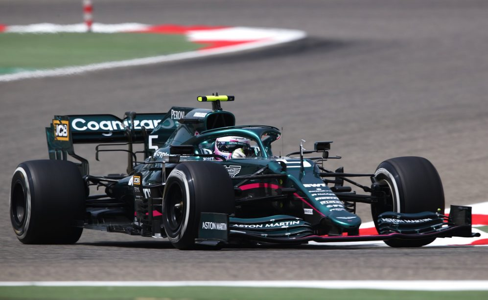 Sebastian Vettel Says There S More To Come After Fun First Test Outing With Aston Martin Formula 1