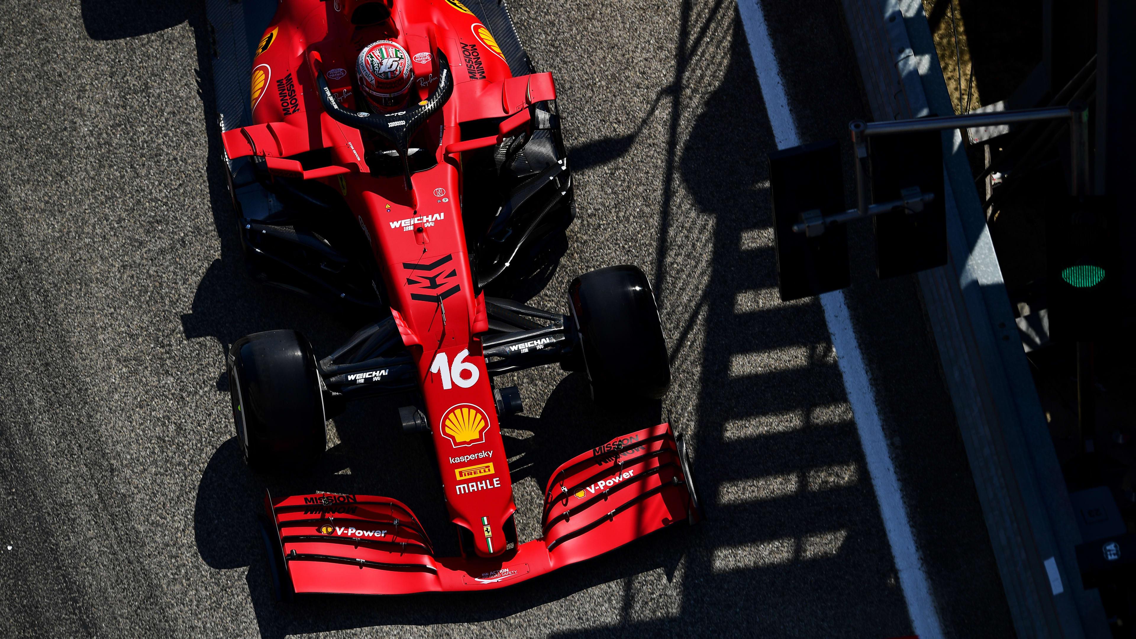 A lot of positives' for Ferrari despite FP2-ending crash, says Leclerc |  Formula 1®