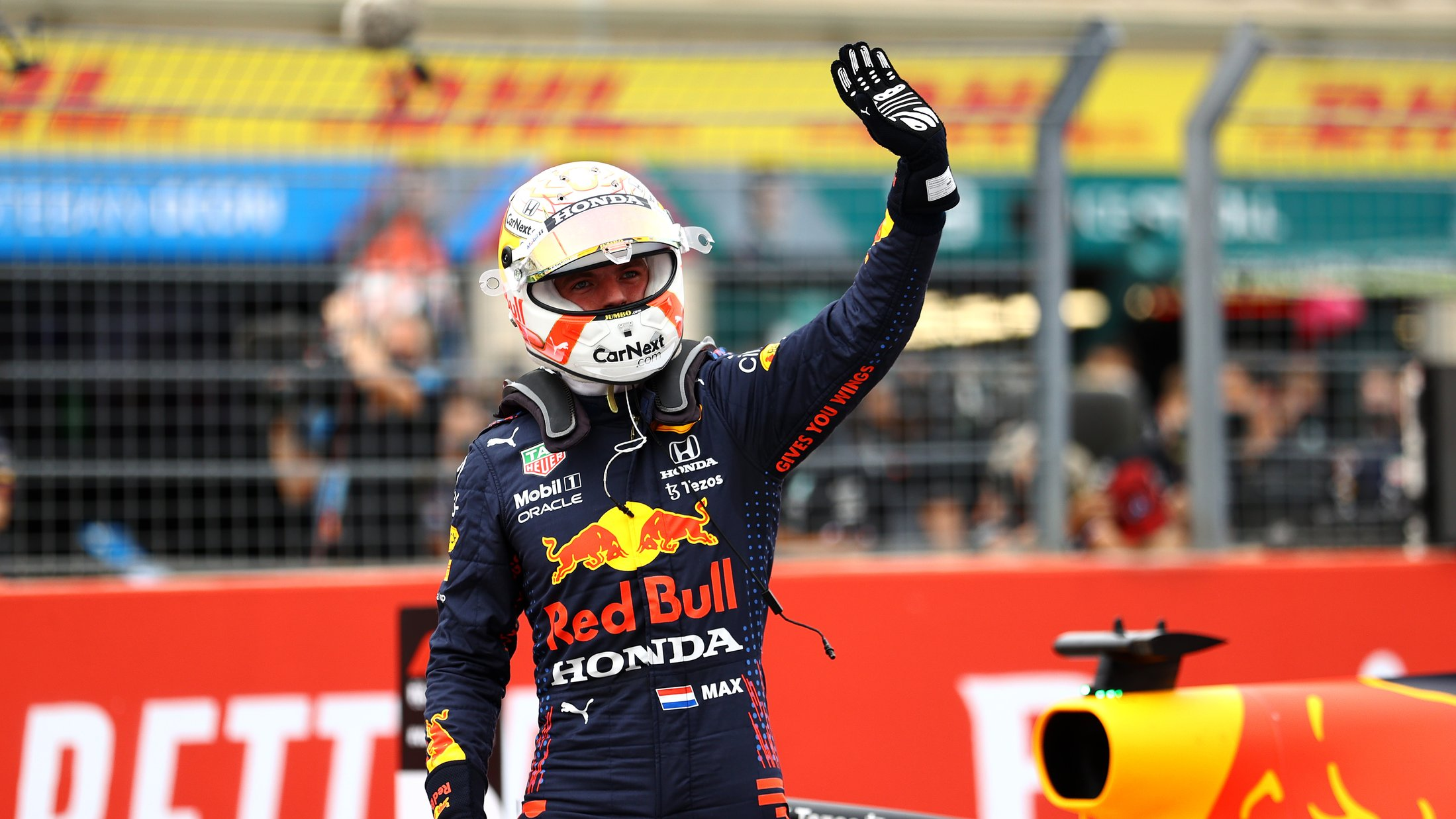 Qualifying report: Max Verstappen beats title rival Lewis Hamilton to pole in thrilling session at Paul Ricard