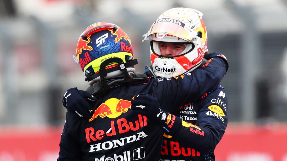 Checo Pérez sube al podio en el GP de Francia; Red Bull hace el 1-3_01