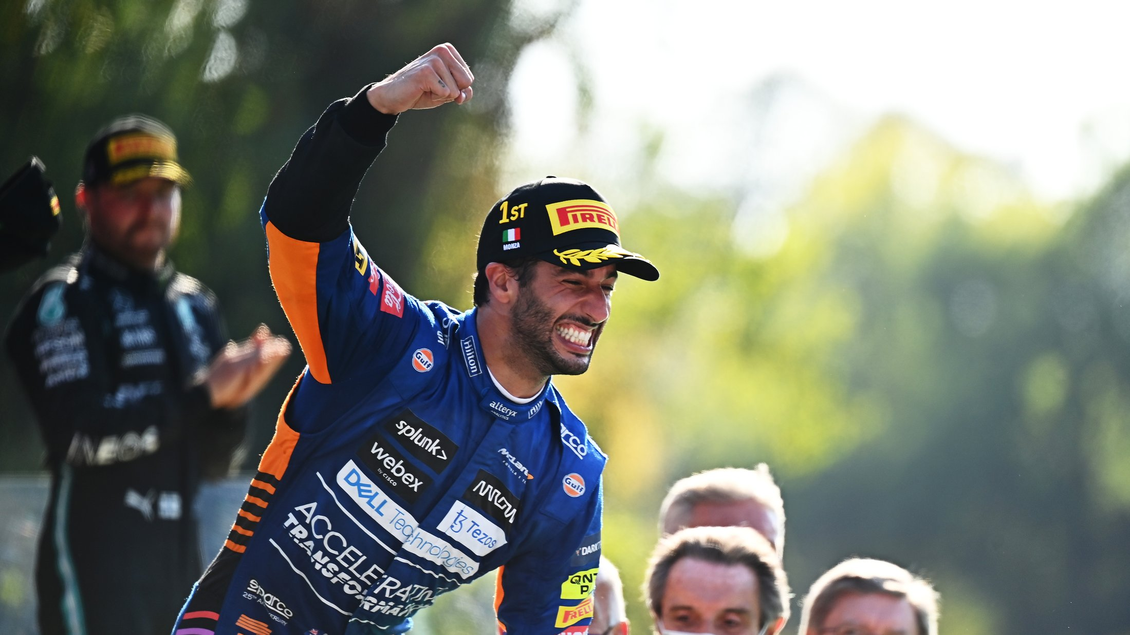'Deep down I never lost faith or belief' says Daniel Ricciardo after taking first win since 2018   Formula 1®