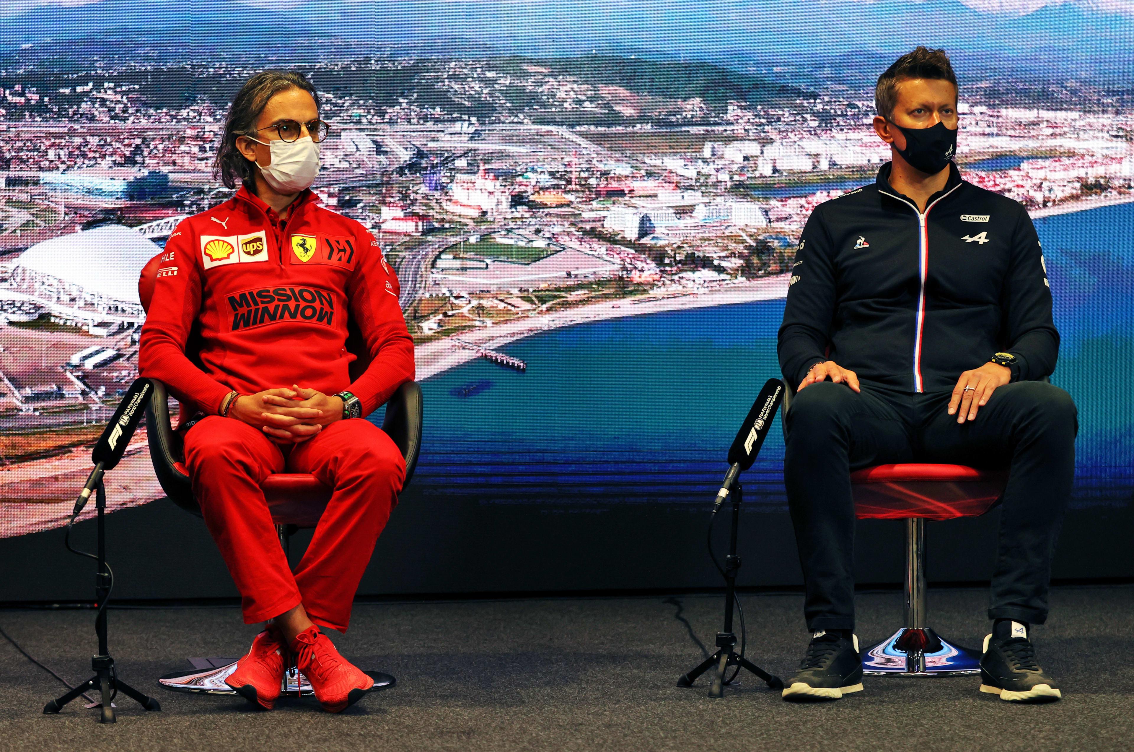 FIA Friday press conference - Russia