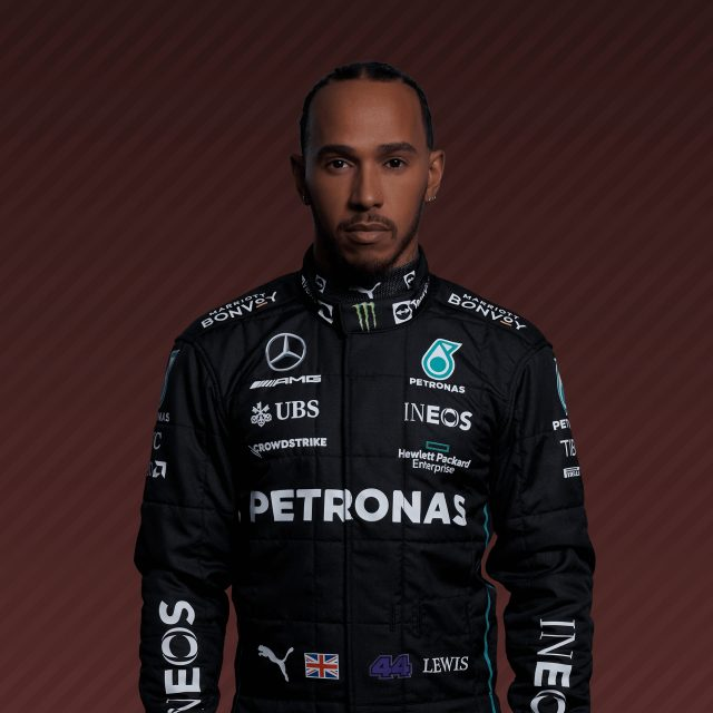 Lewis Hamilton - F1 Driver for Mercedes