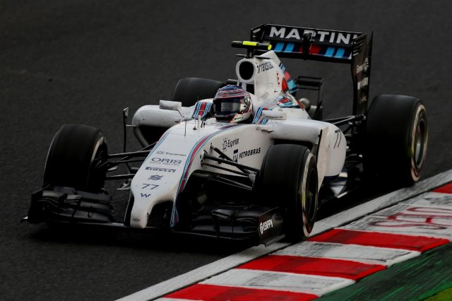Valtteri Bottas (FIN) Williams FW36. Formula One World Championship, Rd15, Japanese Grand Prix, Practice, Suzuka, Japan, Friday, 3 October 2014 © Sutton Images. No reproduction without permission