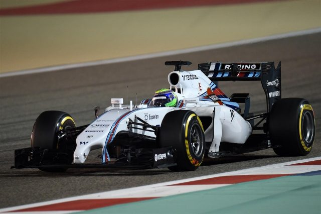 Felipe Massa (BRA) Williams FW36. Formula One World Championship, Rd3, Bahrain Grand Prix, Practice, Bahrain International Circuit, Sakhir, Bahrain, Friday, 4 April 2014