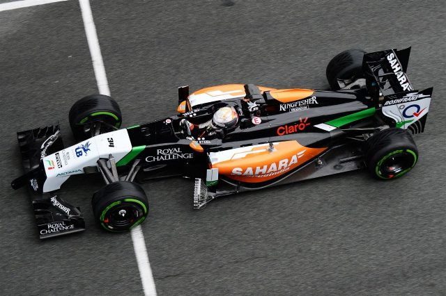 Daniel Juncadella (ESP) Force India VJM07. Formula One Testing, Jerez, Spain, Day Four, Friday, 31 January 2014