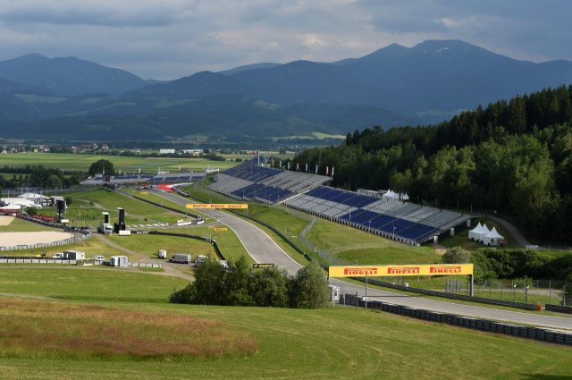 Track view.