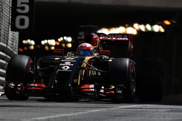 Romain Grosjean (FRA) Lotus E22 exits the tunnel. Formula One World Championship, Rd6, Monaco Grand Prix, Qualifying, Monte-Carlo, Monaco, Saturday, 24 May 2014