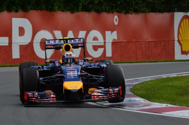 Daniel Ricciardo (AUS) Red Bull Racing RB10. Formula One World Championship, Rd7, Canadian Grand Prix, Qualifying, Montreal, Canada, Saturday, 7 June 2014