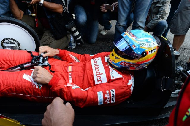 Fernando Alonso (ESP) Ferrari at a Shell event. Formula One World Championship, Rd12, Belgian Grand Prix, Preparations, Spa-Francorchamps, Belgium, Thursday, 21 August 2014 © Sutton Images. No reproduction without permission