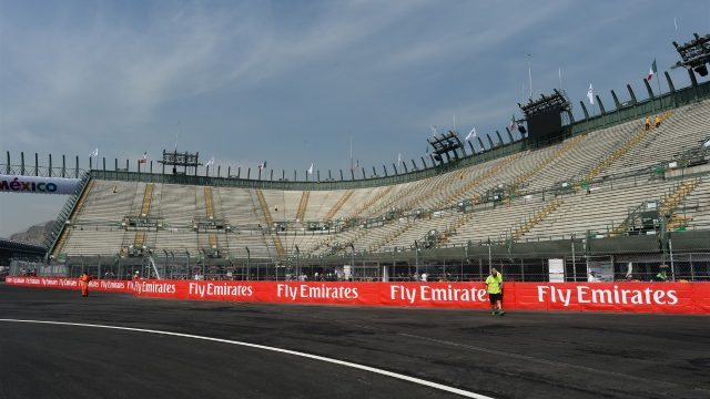 Track view at Formula One World Championship, Rd17, Mexican Grand Prix, Preparations, Circuit Hermanos Rodriguez, Mexico City, Mexico, Thursday 29 October 2015. &copy&#x3b; Sutton Motorsport Images