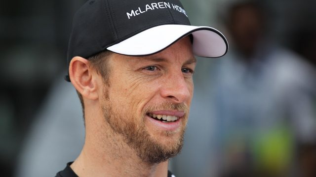 Jenson Button (GBR) McLaren at Formula One World Championship, Rd17, Mexican Grand Prix, Preparations, Circuit Hermanos Rodriguez, Mexico City, Mexico, Thursday 29 October 2015. &copy&#x3b; Sutton Motorsport Images
