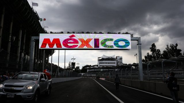 Mexico signage at Formula One World Championship, Rd17, Mexican Grand Prix, Preparations, Circuit Hermanos Rodriguez, Mexico City, Mexico, Thursday 29 October 2015. &copy&#x3b; Sutton Motorsport Images