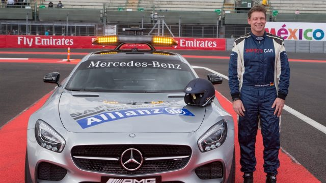 Bernd Maylander (GER) FIA Safety Car Driver at Formula One World Championship, Rd17, Mexican Grand Prix, Preparations, Circuit Hermanos Rodriguez, Mexico City, Mexico, Thursday 29 October 2015. &copy&#x3b; Sutton Motorsport Images